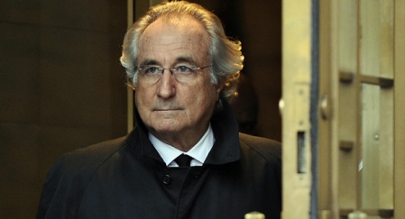 (FILES) A picture taken on January 14, 2009 in New York, shows Bernard Madoff leaving US Federal Court after a hearing regarding his bail. The French prosecutor's office opened on May 29, 2009 an investigation into allegations of fraud following complaints from investors who say they were harmed in a pyramid scheme orchestrated by US financier Bernard Madoff, legal sources said. AFP PHOTO / TIMOTHY A. CLARY (Photo credit should read TIMOTHY A. CLARY/AFP/Getty Images)